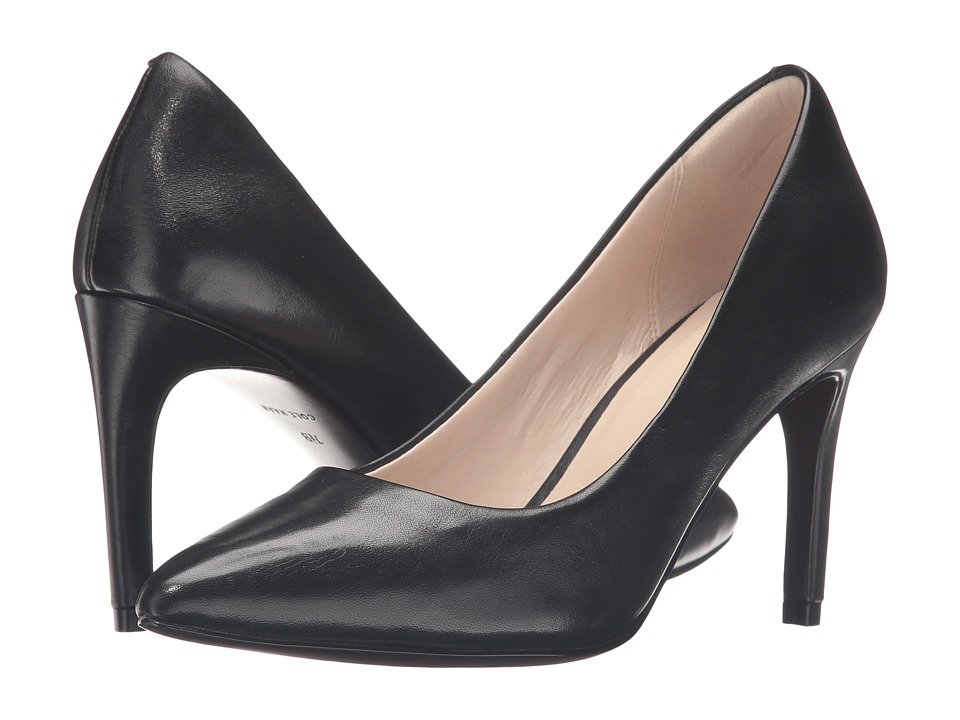 Cole Haan - Amelia Grand Pump 85mm (Black Leather) Women