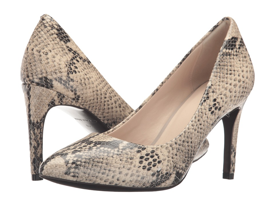 Cole Haan - Amelia Grand Pump 85mm (Roccia Snake Print) Women