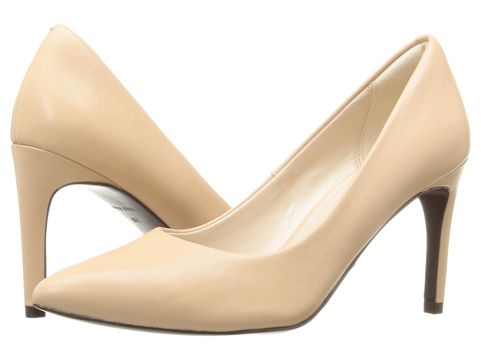 Cole Haan - Amelia Grand Pump 85mm (Nude Leather) Women