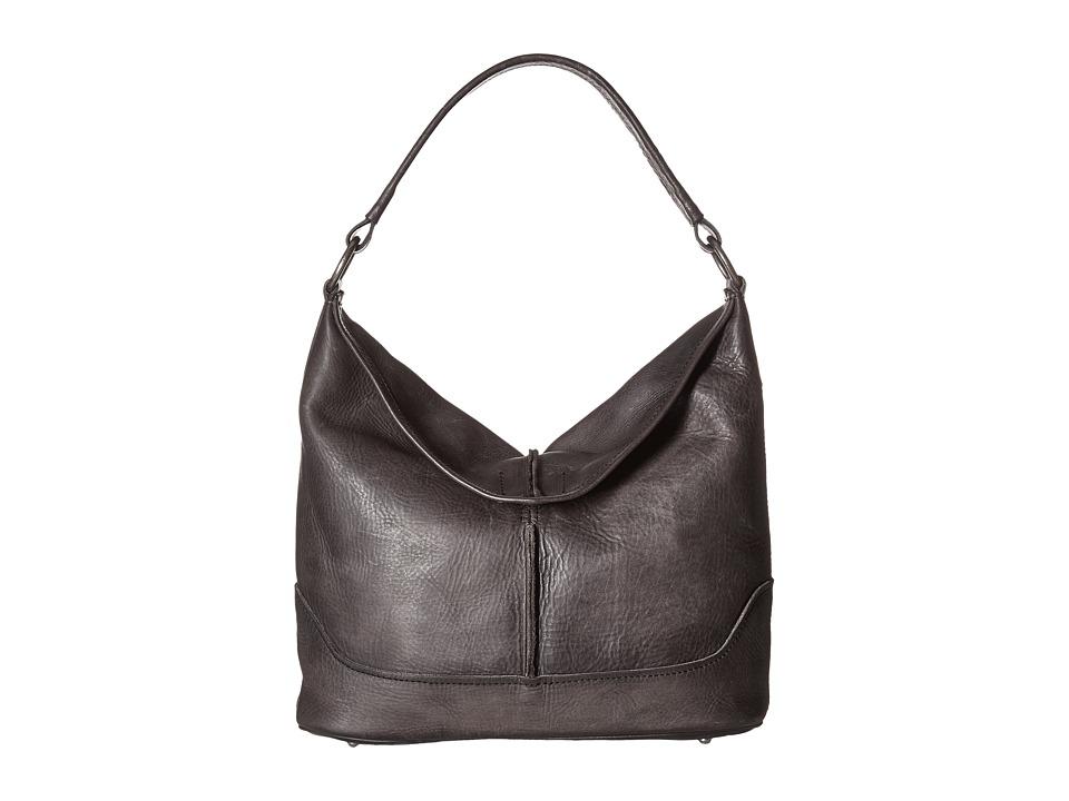 Frye - Cara Hobo (Smoke Washed Oiled Vintage) Hobo Handbags