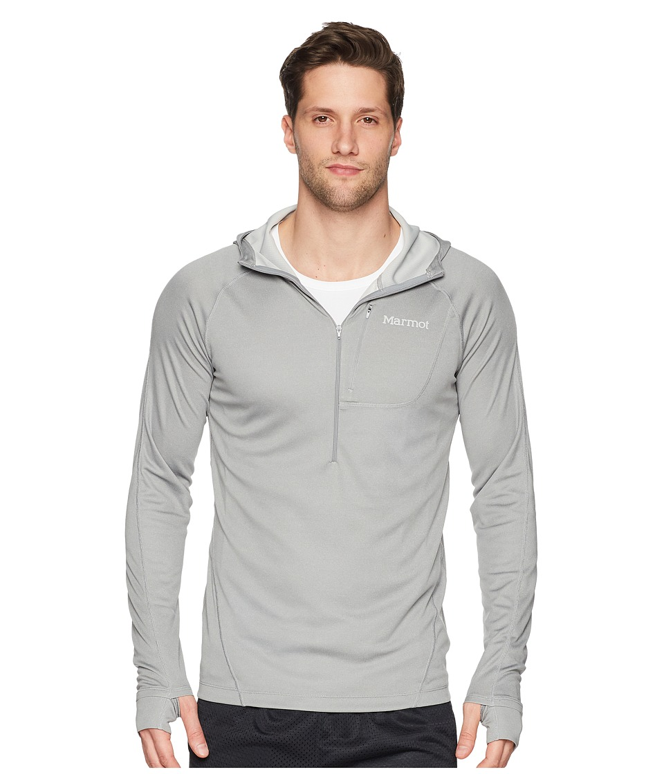 Marmot - Indio 1/2 Zip (Grey Storm) Mens Clothing