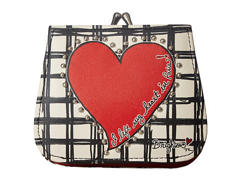 Brighton Paris Heart French Kiss Wallet - Multi