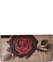 Brighton - Victorian Rose Large Slim Wallet