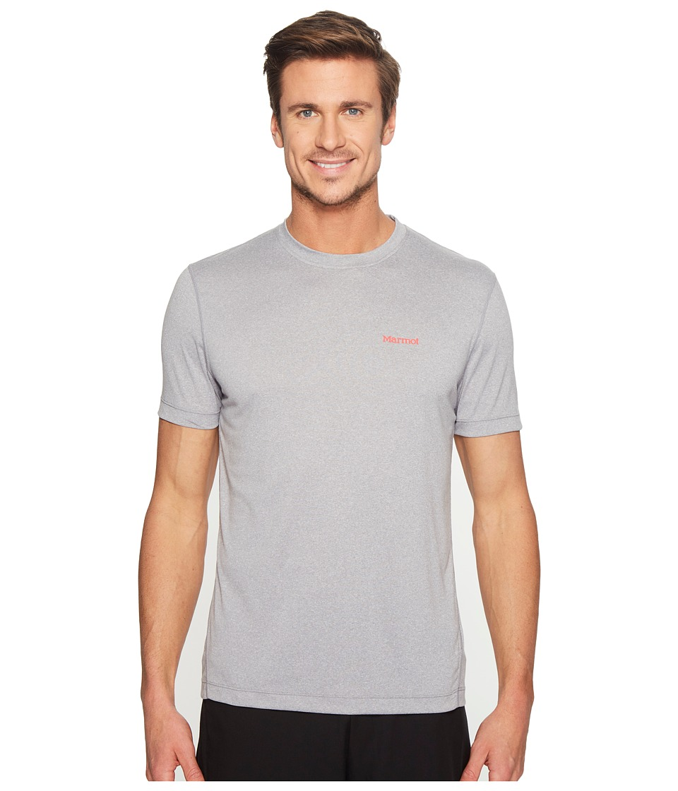 Marmot Conveyor S/S Tee (Grey Storm Heather) Men