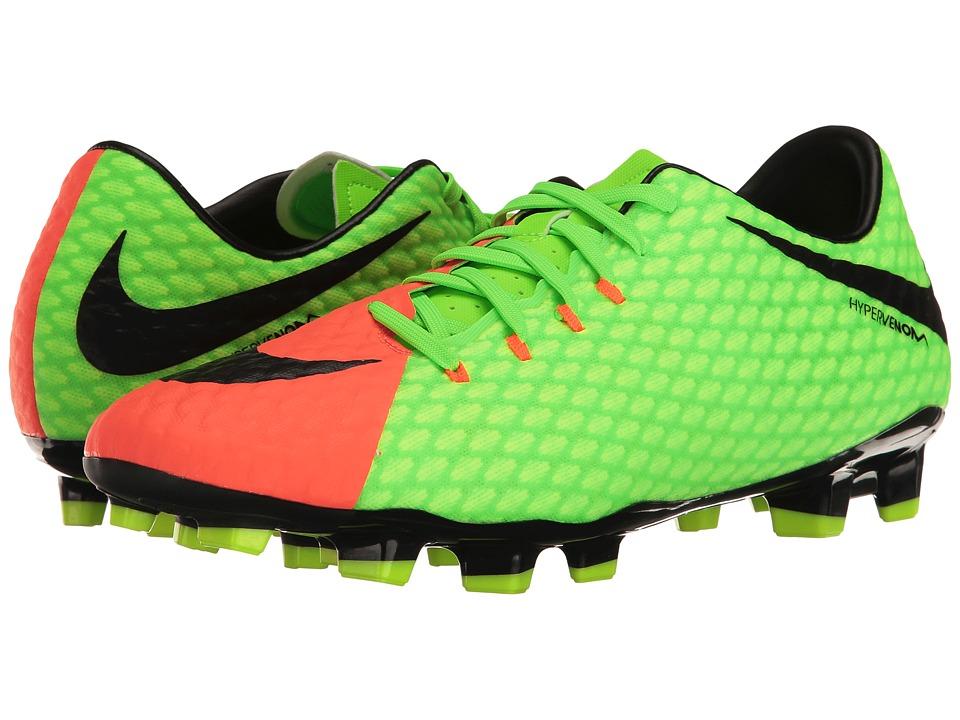 Nike Hypervenom Phelon III FG (Electric Green/Black/Hyper...