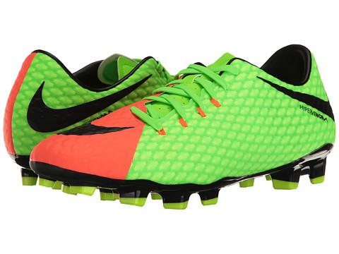 Nike Hypervenom Phelon III FG - Electric Green/Black/Hyper Orange/Volt