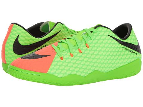 Nike Hypervenom Phelon III IC - Electric Green/Black/Hyper Orange/Volt