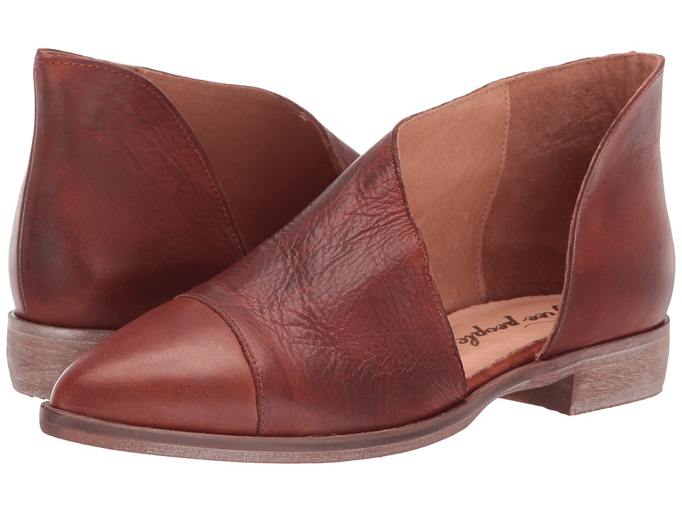 Free People Royale Flat (Taupe) Flats