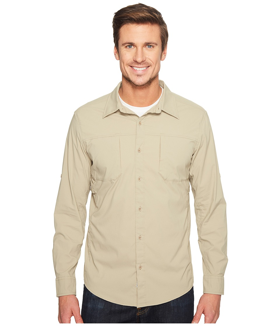 Marmot - Trient Long Sleeve (Light Khaki) Mens Clothing