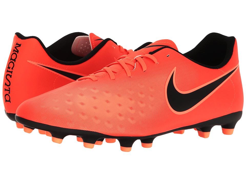 Nike - Magista OLA II FG (Total Crimson/Black/Bright Mango) Mens Shoes