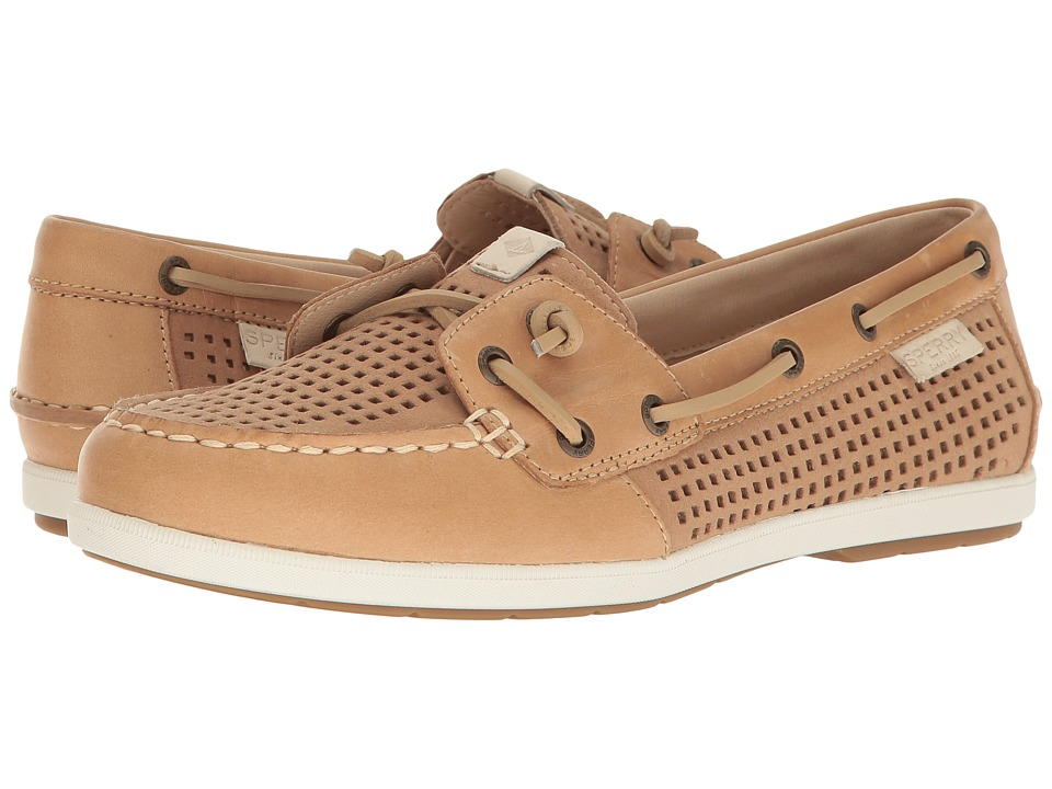 Sperry Coil Ivy Perf (Tan) Women