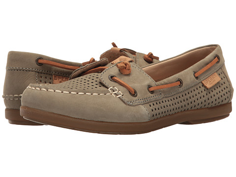 Sperry Coil Ivy Perf - Olive