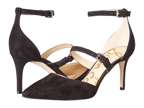 Sam Edelman Thea - Black Kid Suede Leather