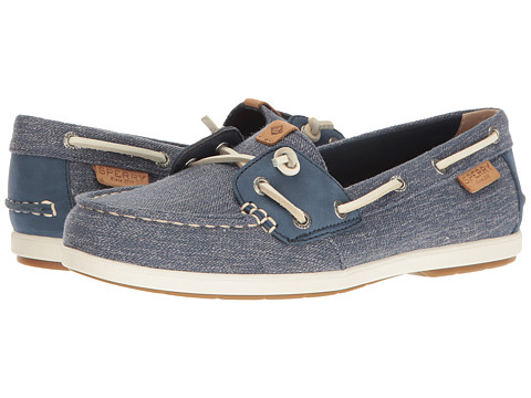 Sperry Coil Ivy Canvas - Navy