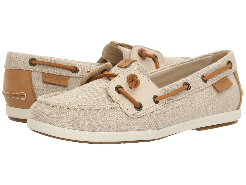 Sperry Coil Ivy Canvas (Oat) Women