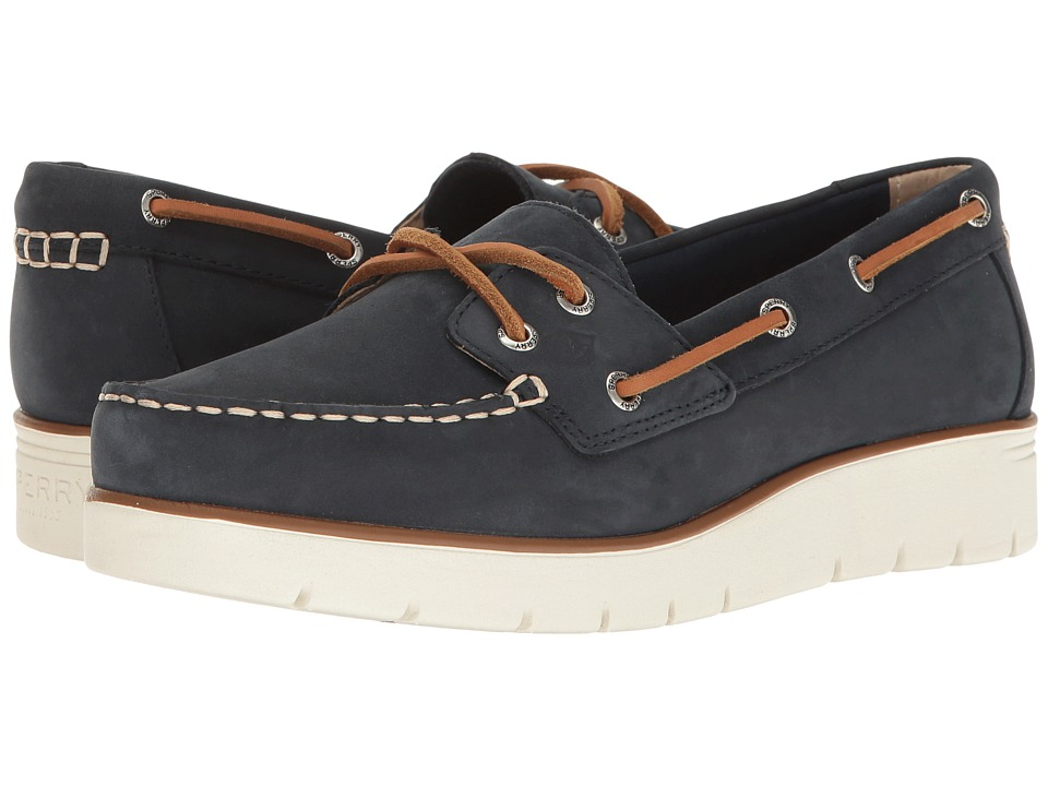 Sperry Azur Cora Nubuck (Cobalt Blue) Women