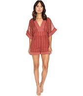 Adelyn Rae - Woven Kimono Sleeve Romper