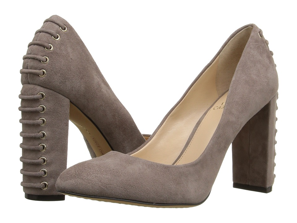 Vince Camuto - Dallan (Stone Taupe True Suede) High Heels