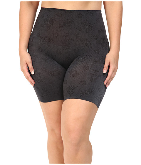 Spanx Plus Size Pretty Smart Midthigh Shorts