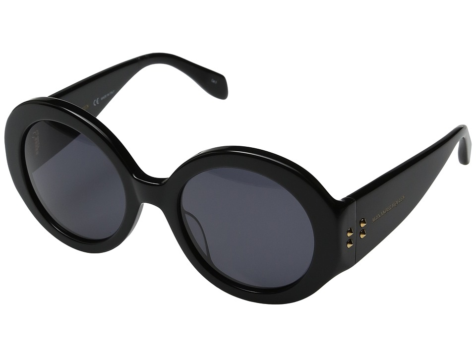 Alexander McQueen - AM0032S (Black/Smoke) Fashion Sunglasses