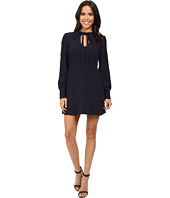 Adelyn Rae - Woven Long Sleeve Fit and Flare Dress
