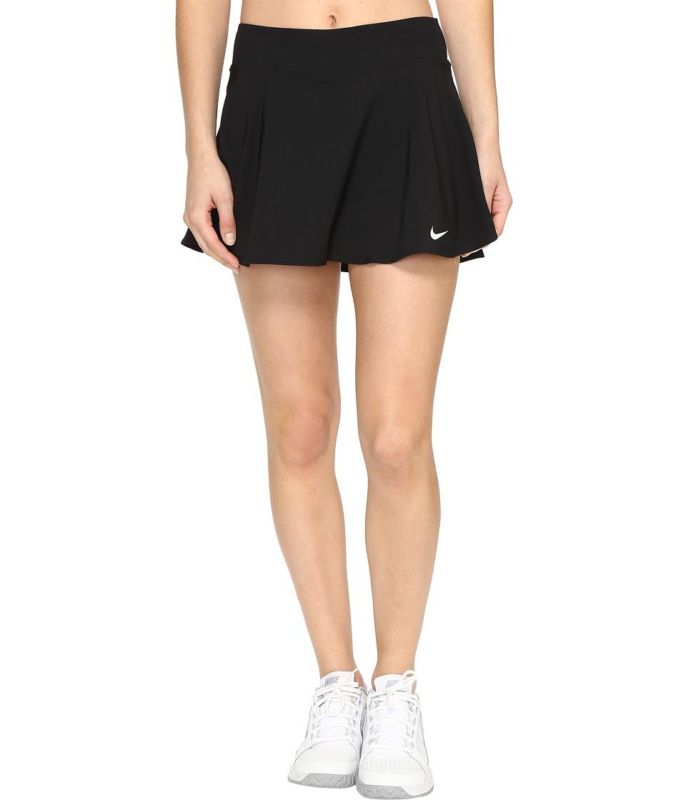 Nike Court Tennis Skirt (Black/White) Women