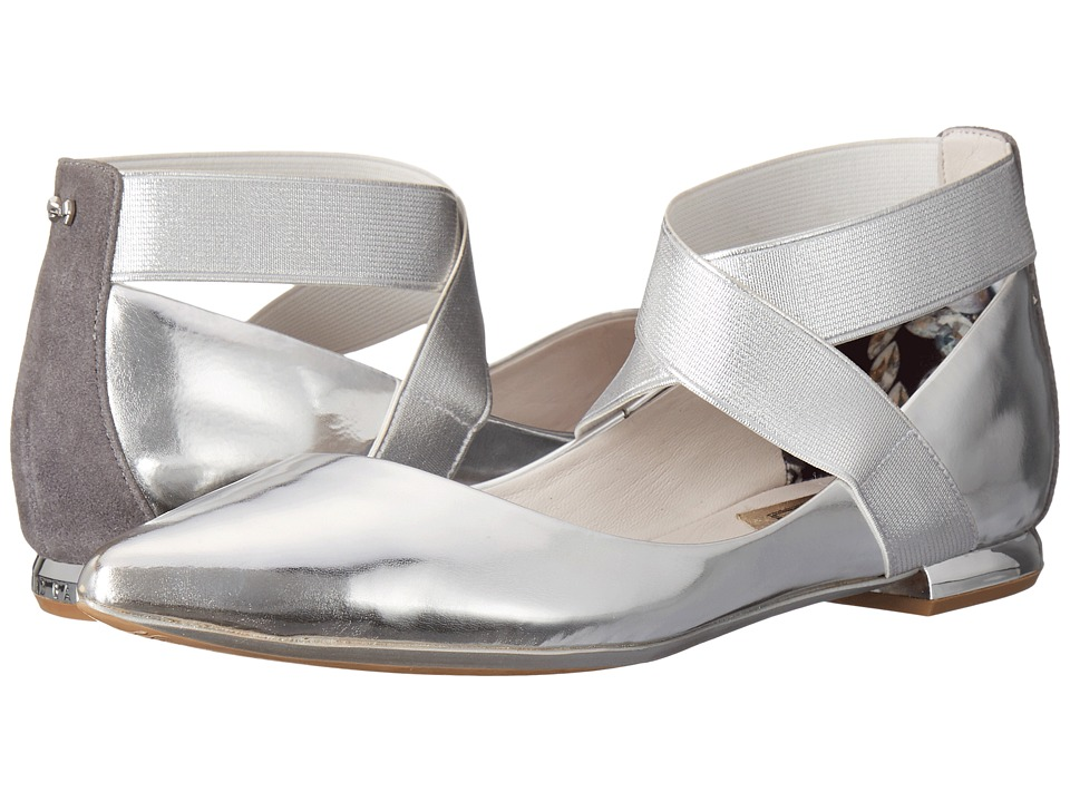 Ted Baker - Cencae (Silver Leather) Womens Flat Shoes