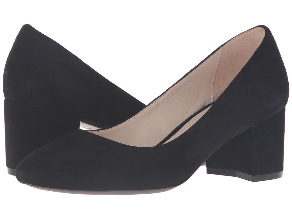 Cole Haan - Eliree Pump 55mm (Black Suede) Women