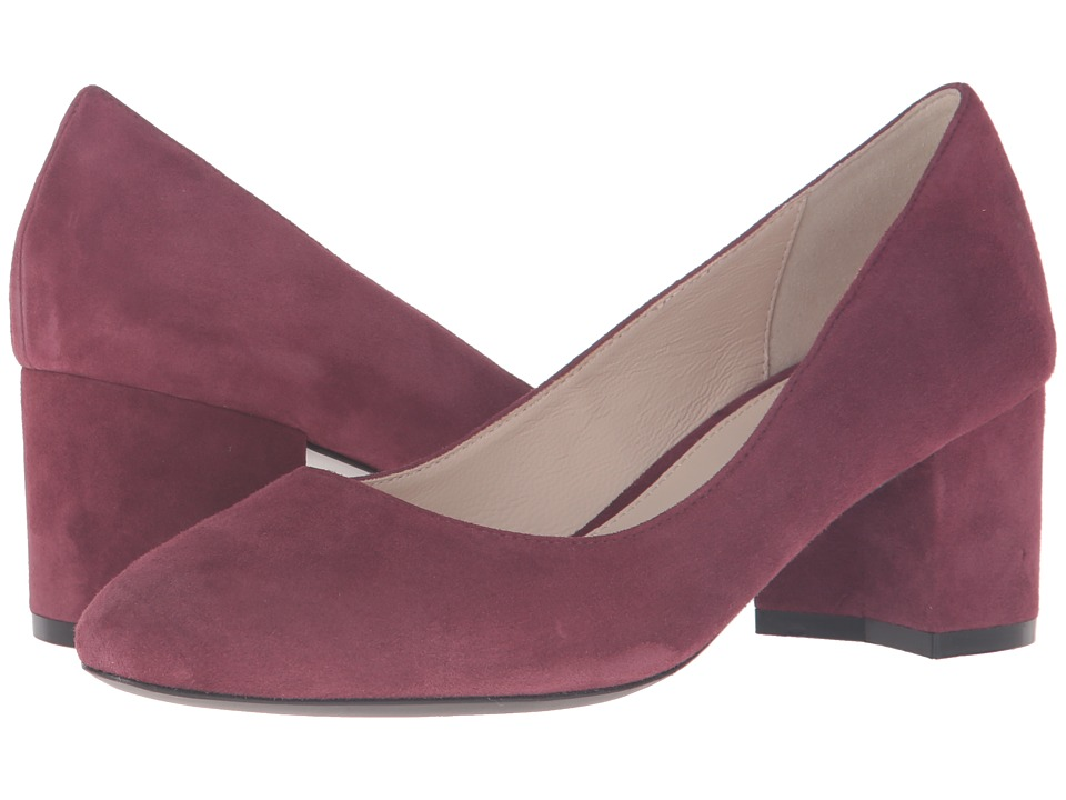 Cole Haan - Eliree Pump 55mm (Tawny Port Suede) Women
