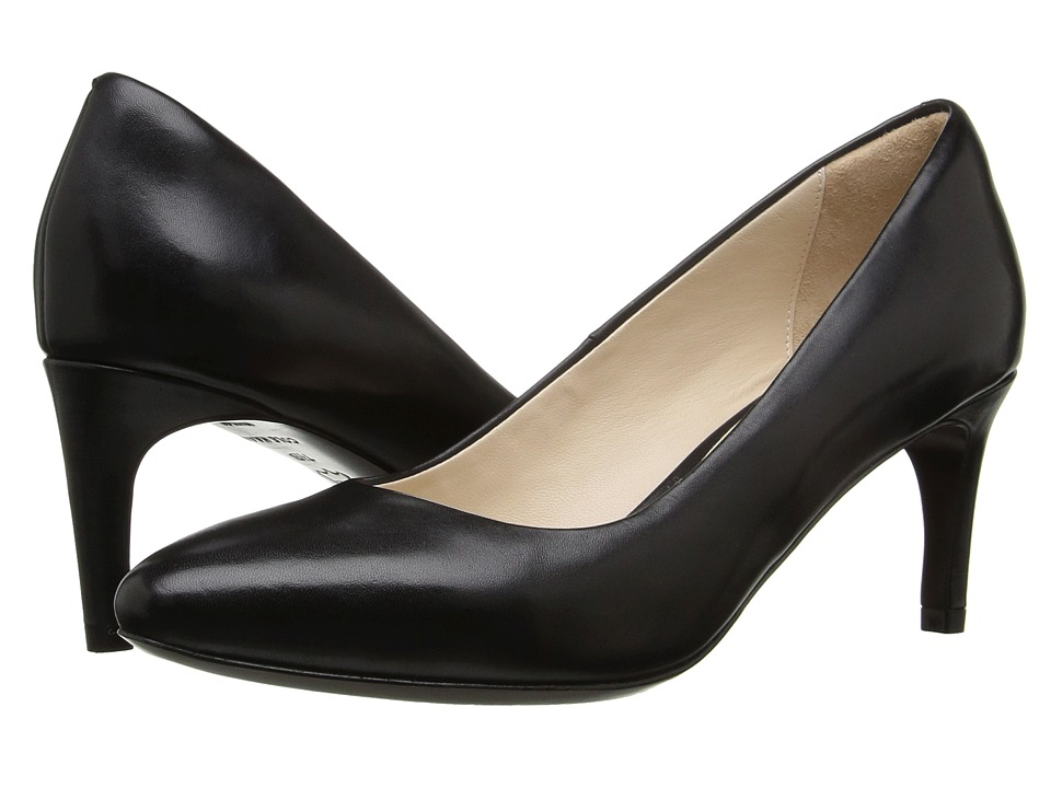 Cole Haan - Grace Grand Pump 65MM (Black Leather) Womens Shoes
