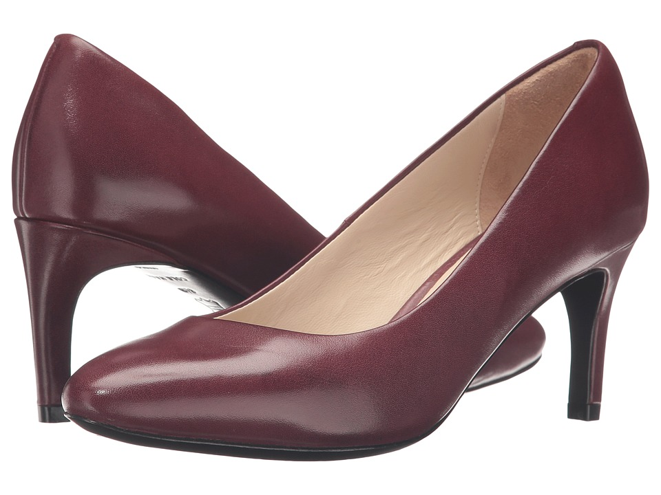 Cole Haan - Grace Grand Pump 65MM (Tawny Port Leather) Women