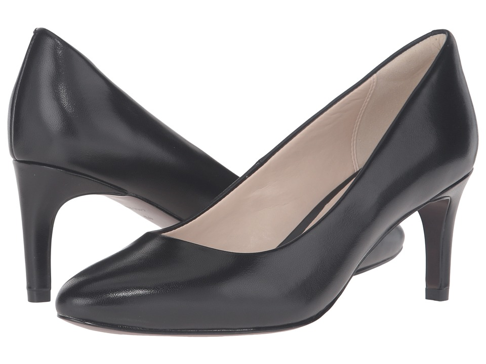 Cole Haan Clara Grand Pump 65mm (Black Leather) Women