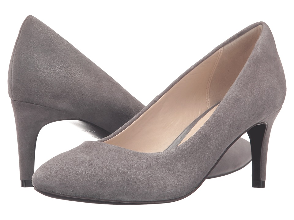 Cole Haan - Clara Grand Pump 65mm (Stormcloud Suede) Women