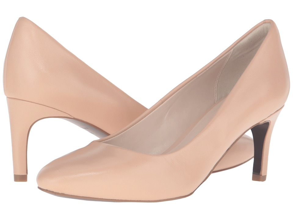 Cole Haan - Clara Grand Pump 65mm (Nude Leather) Women