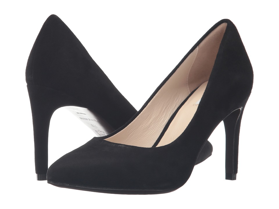 Cole Haan - Eliza Grand Pump 85mm (Black Suede) Women