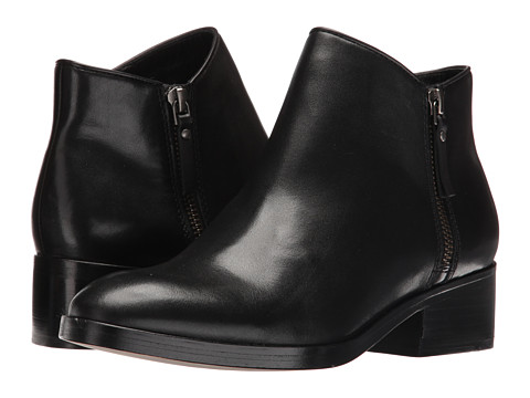 Cole Haan Hayes Flat Bootie - Black Leather