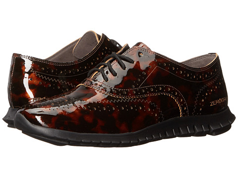 Cole Haan Zerogrand Wing Oxford - Tortoise Print Leather