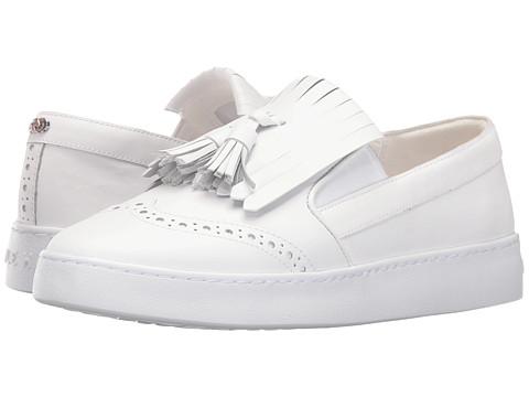 Cole Haan Reiley Tassel Slip-On - Optic White Leather
