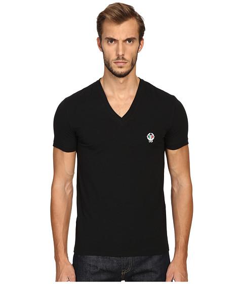 Dolce & Gabbana Deep V-Neck T-Shirt