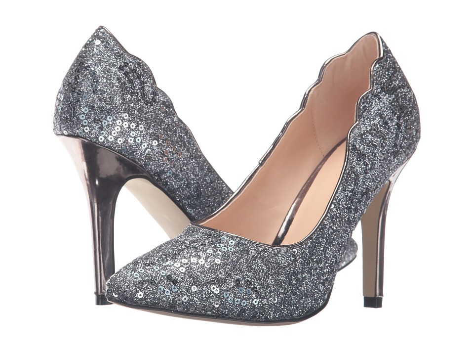 Paradox London Pink Alexis (Pewter Glitter/Sequins) Women