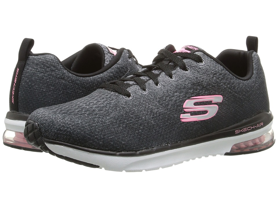 SKECHERS - Skech-Air Infinity - Modern Chic (Black/White) Womens  Shoes