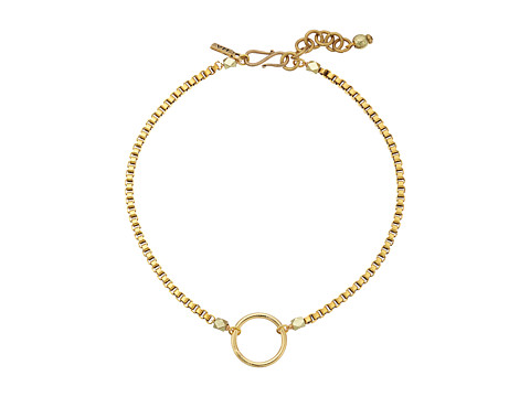 Vanessa Mooney The Bonet Choker Necklace - Gold