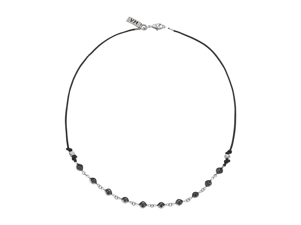 Vanessa Mooney - The Cyndi Choker Necklace (Silver) Necklace