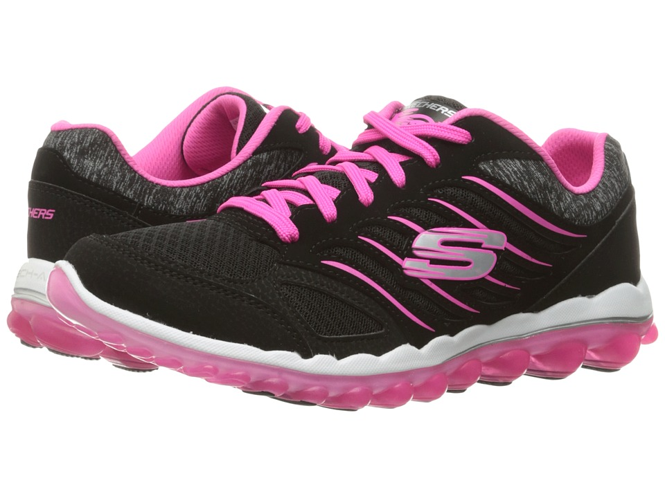 SKECHERS - Skech-Air 2.0 - City Love (Black/Pink) Womens  Shoes