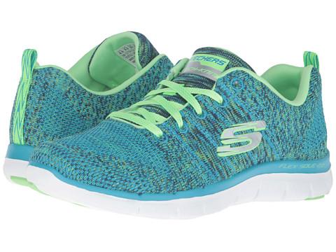 SKECHERS Flex Appeal 2.0 - High Energy - Blue/Lime