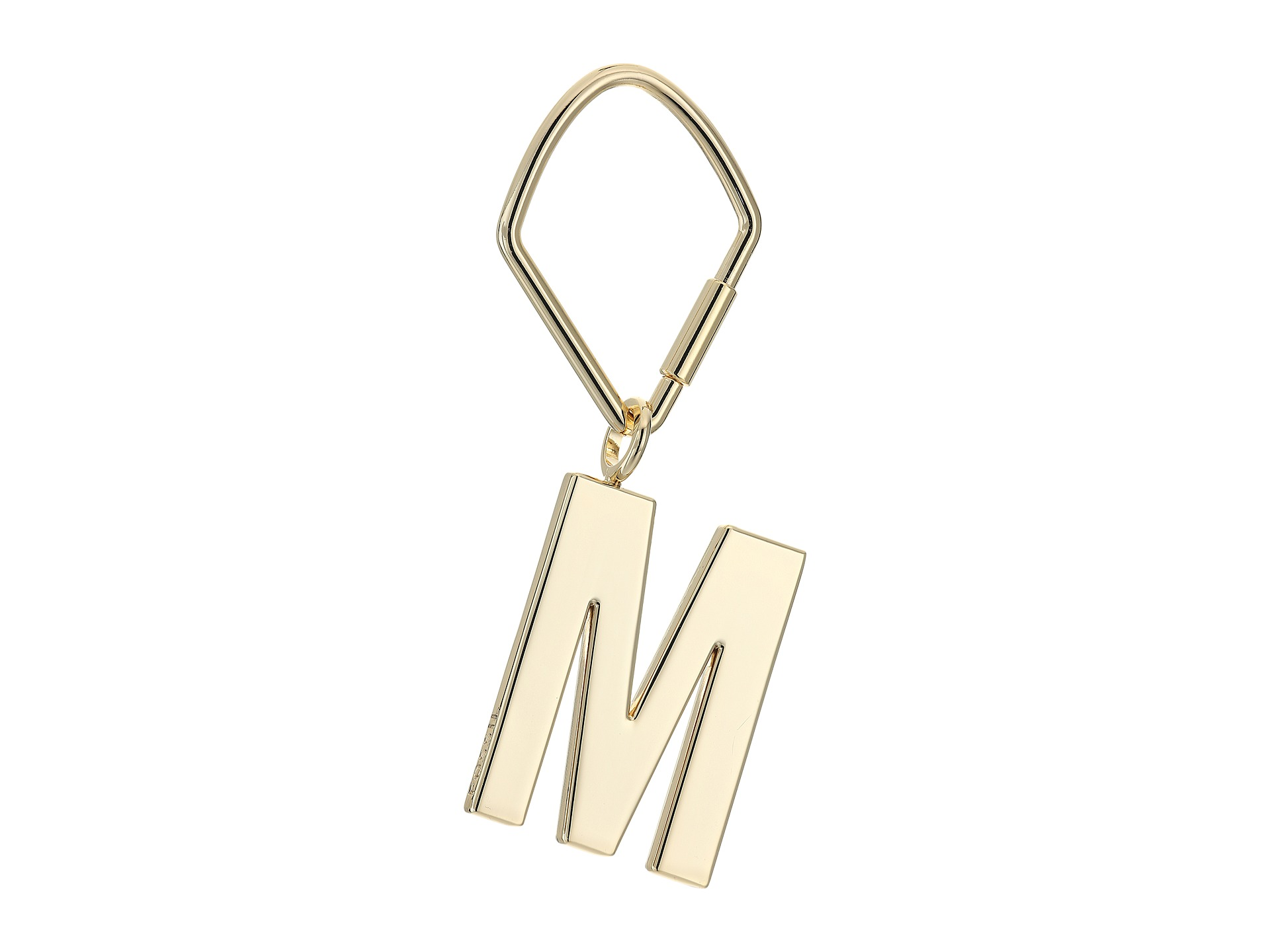 fossil letter bag charm gold m zapposcom free shipping With letter bag charm