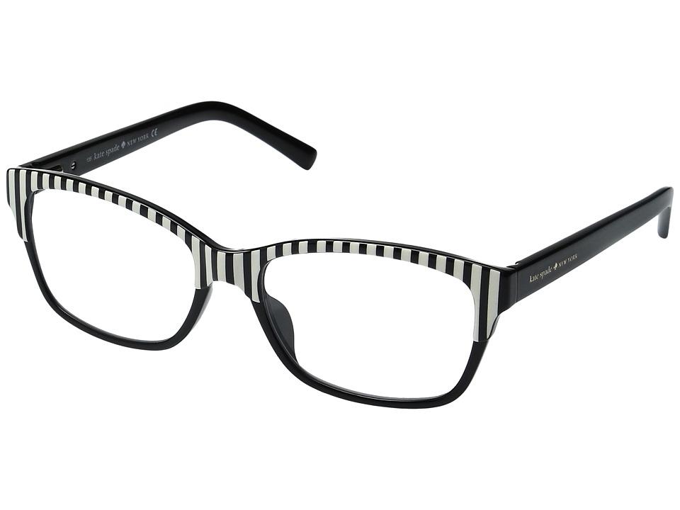 Kate Spade New York - Tenille (Black) Reading Glasses Sunglasses