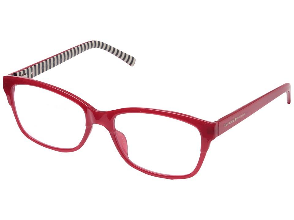Kate Spade New York - Tenille (Milky Red) Reading Glasses...
