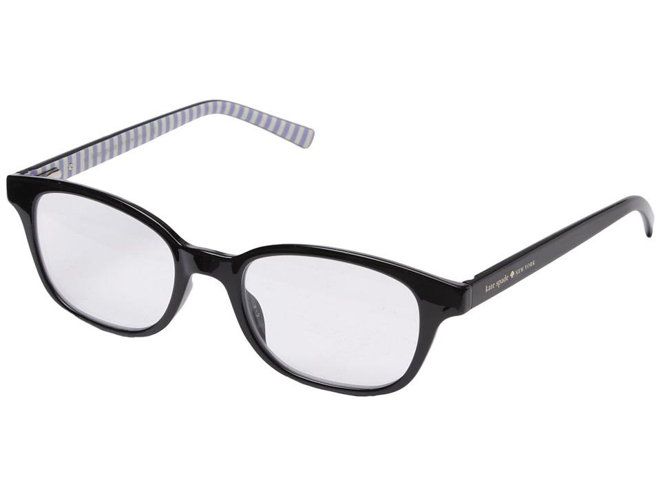 Kate Spade New York - Kya (Black) Reading Glasses Sunglasses