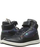 Paul Smith Junior - High Top Leather Sneaker (Little Kid/Big Kid)
